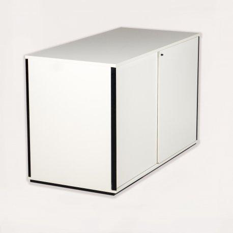 Ragners reol - 114x180x90 - hvid