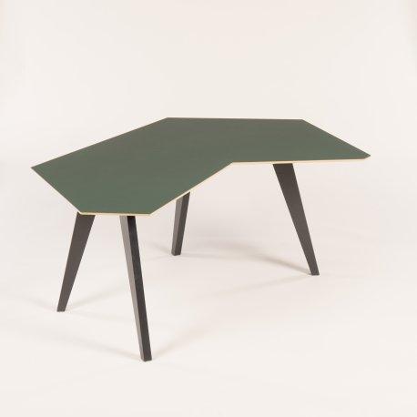 Air compete skrivebord med faste ben