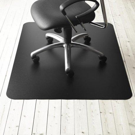 Stoleunderlag - sort - u/ pigge - Chairmat Standard 120X150 HARD