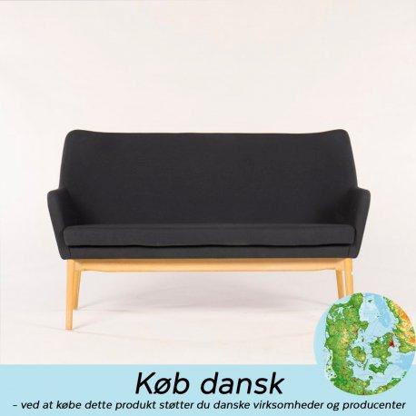 Uni Skipper - sofa sort/grå