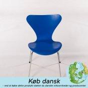 Syverstol - blå (3107 -  7'er)