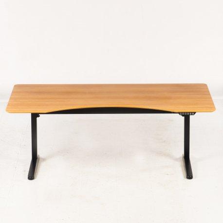 Hæve-/sænkebord - kirsebær - 180x105