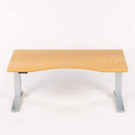 Hæve-/sænkebord - bøg - 160x100