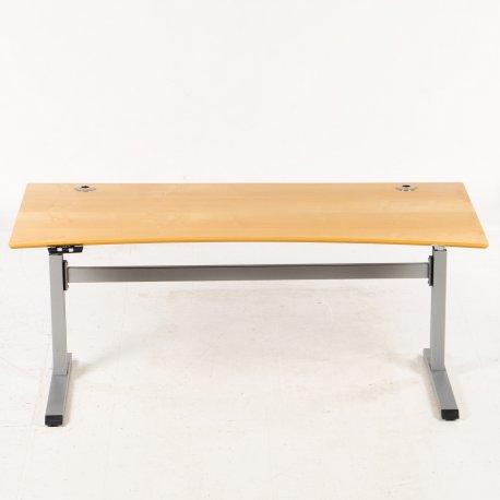 Pre Sale - hæve-/sænkebord - Ahorn - 180x90 cm