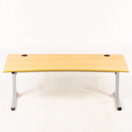 Hæve-/sænkebord - holmris - 180x90 - Ahorn