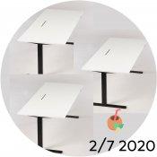 3x Ragnars hæve-/sænkebord - Juli-kalender 2/7