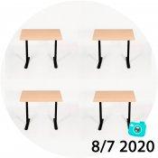 5x Asger BC skrivebordlamper - Juli-kalender 7/7