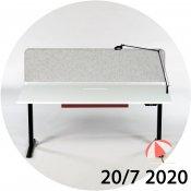 Ragnars hæve-/sænkebord med tilbehørspakke