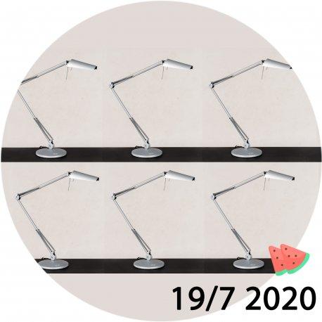 Luxo Air bordlampe - Halogen - grå
