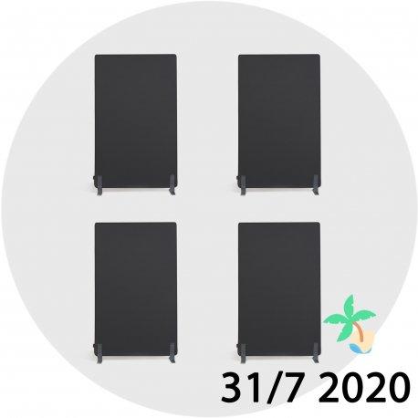 4 x Alma skillevæg - Juli-kalender 31/7