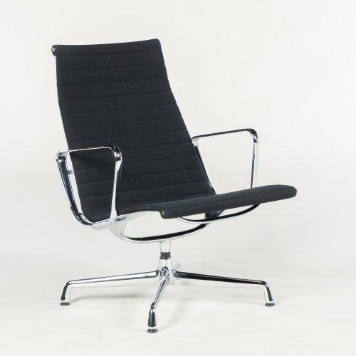 Eames loungechair - model EA 116 - sort uld