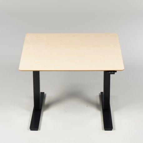 Hæve-/sænkebord - 90x90 cm