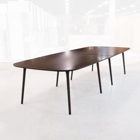 Foersom & Hiort-Lorenzen - Stort konferencebord - røget eg - 130x340 cm.