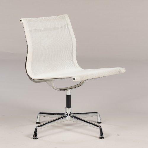 Eames Vitra EA 101 - konferencestol - hvid mesh