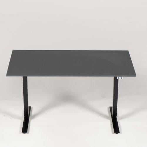 Hæve-/sænkebord - antracit - 140x80 cm.