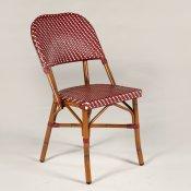 SFM Contract - caféstol i fransk stil - rød