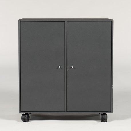 Montana - skab - grå - 77x70x38 cm.