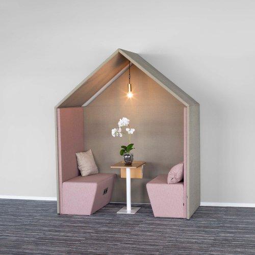 Half a Hut - lydabsorberende rum-i-rummet