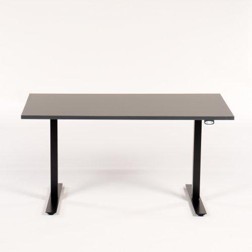 Demo hæve-/sænkestel - antracit - 140x80 cm. - sort Loke stel