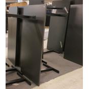 Hæve-/sænkebord - antracit decor - 160x80 cm - sort Ragnars stel