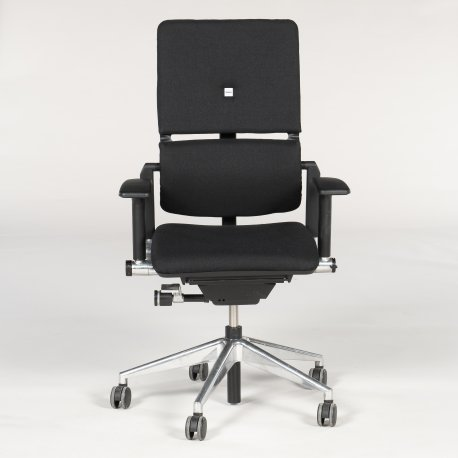 Steelcase Please V2 Black - alu