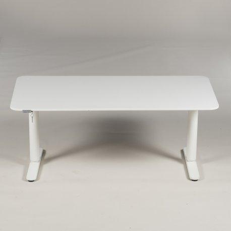 IKEA - hæve-/ sænkebord - model Bekant - 160x80 cm.