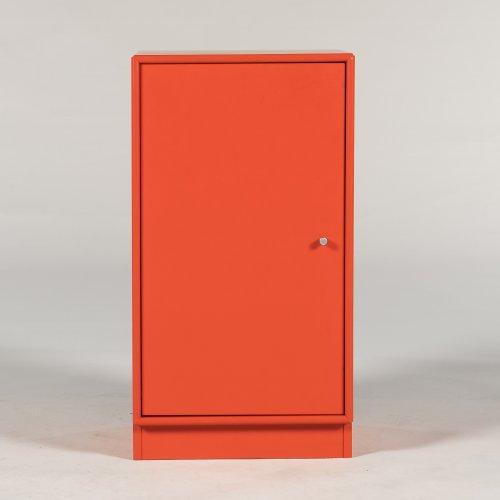 Montana - skab - rød - 70x42x39 cm.