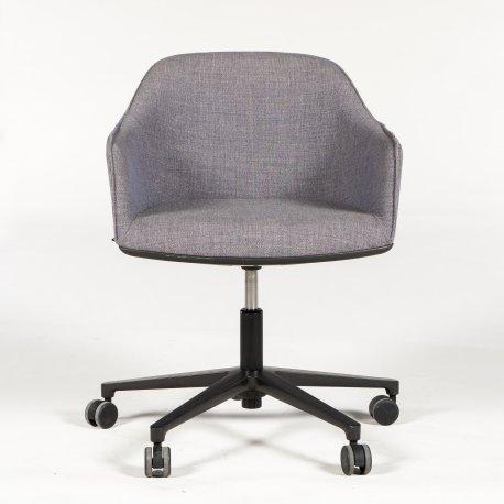 Ronan & Erwan Bouroullec - Softshell chair - konferencestol - mørkgrå polstring
