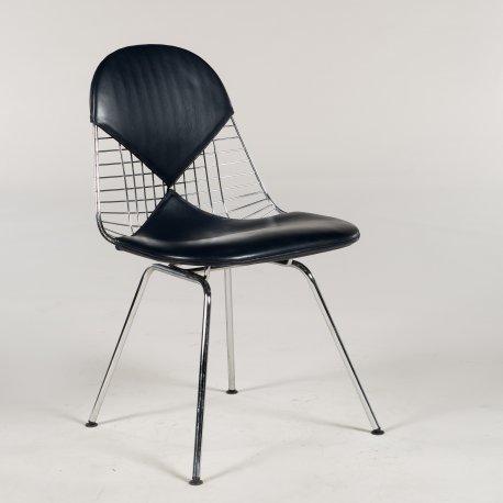 Eames Bikini chair - mørkblå - krom