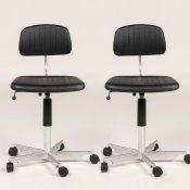 Kevi kontorstol - sæt med 2 stk