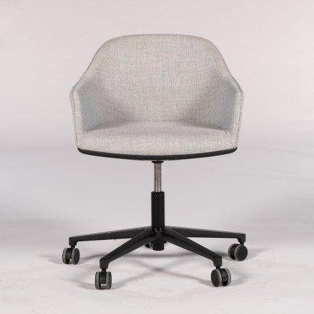 Ronan & Erwan Bouroullec - Softshell Chair - konferencestol - lysgrå polstring