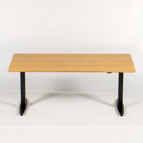 Hæve-/sænkebord - Bøg - 150x90 cm - Rektangulær