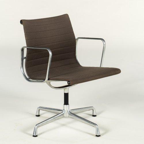 Eames Vitra 117 - konferencestol - grå