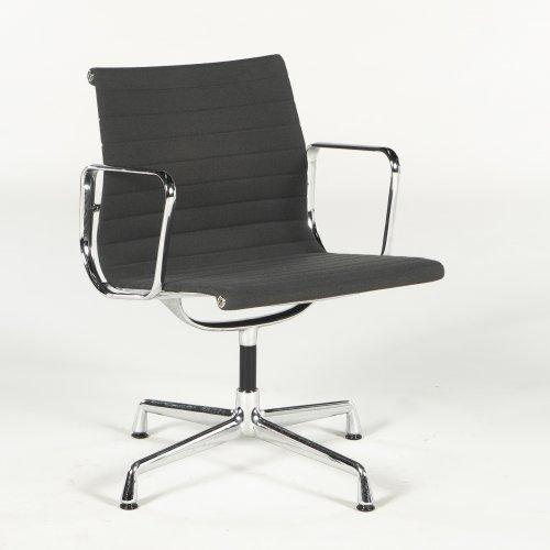 Eames 108 - konferencestol - gråt stof