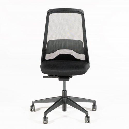 Every Interstuhl kontorstol - sort mesh - sort sæde - sort stel