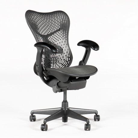 Herman Miller Mirra kontorstol - graphite/ grå