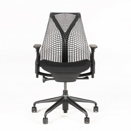 Herman Miller SAYL kontorstol - sort - stand som ny