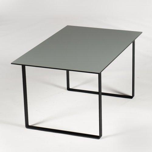 Xenon - konferencebord - grå - 140x90 cm. - Link ben
