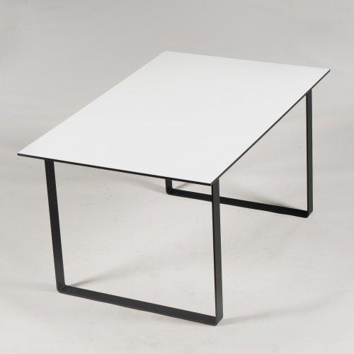 Xenon - konferencebord - hvid - 140x90 cm. - Link ben