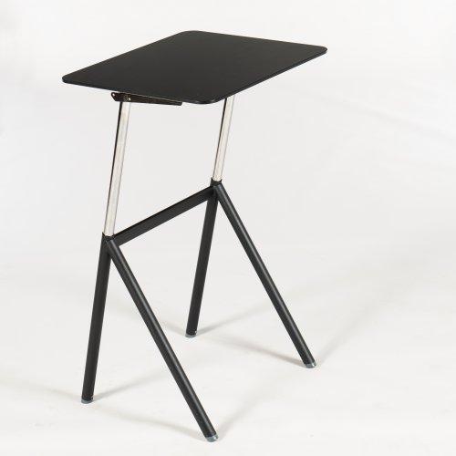 Demo Standup Desk - sort - 70 cm