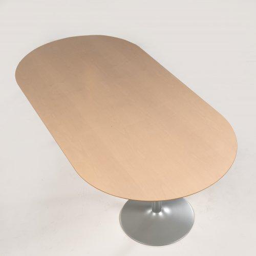 Konferencebord med ahorn plade - 230x120 cm