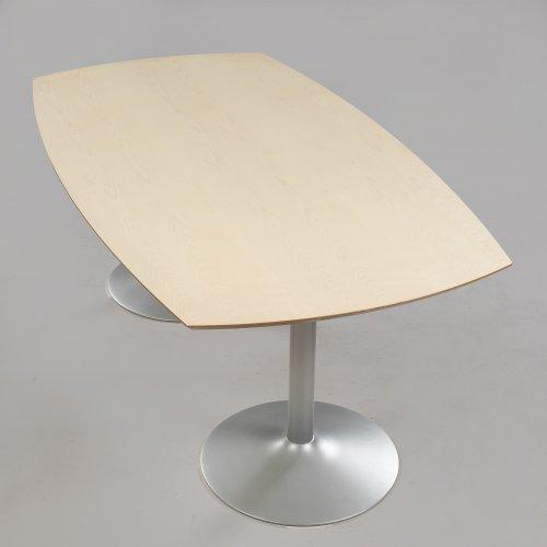 Konferencebord - 200x110 cm - ahorn