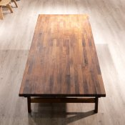 Brugt konference-/spisebord - træ - 310x105 cm
