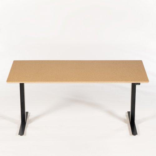 Convert hæve-/sænkebord - træfiberplade m. klar lak