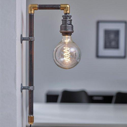 WallPipe Black - væglampe