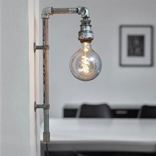 WallPipe Grey - væglampe