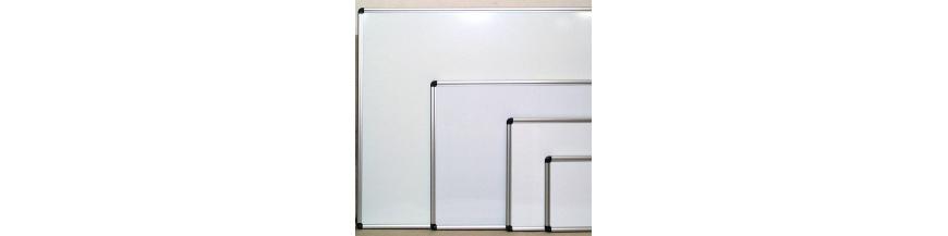 Brugt whiteboards og tavler