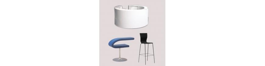 Brugte receptions- og loungemøbler