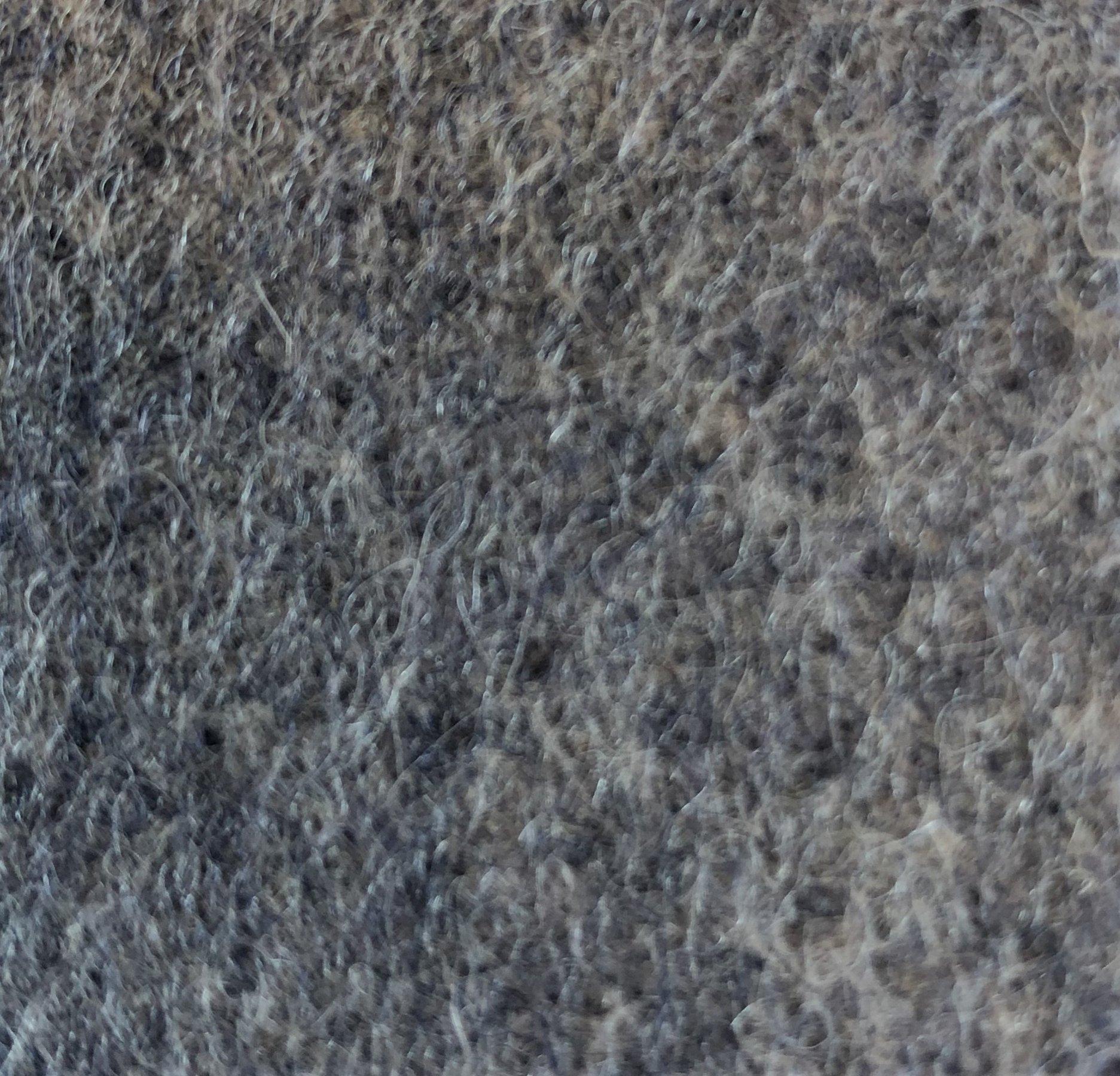 Grå/blå uld (G111)
