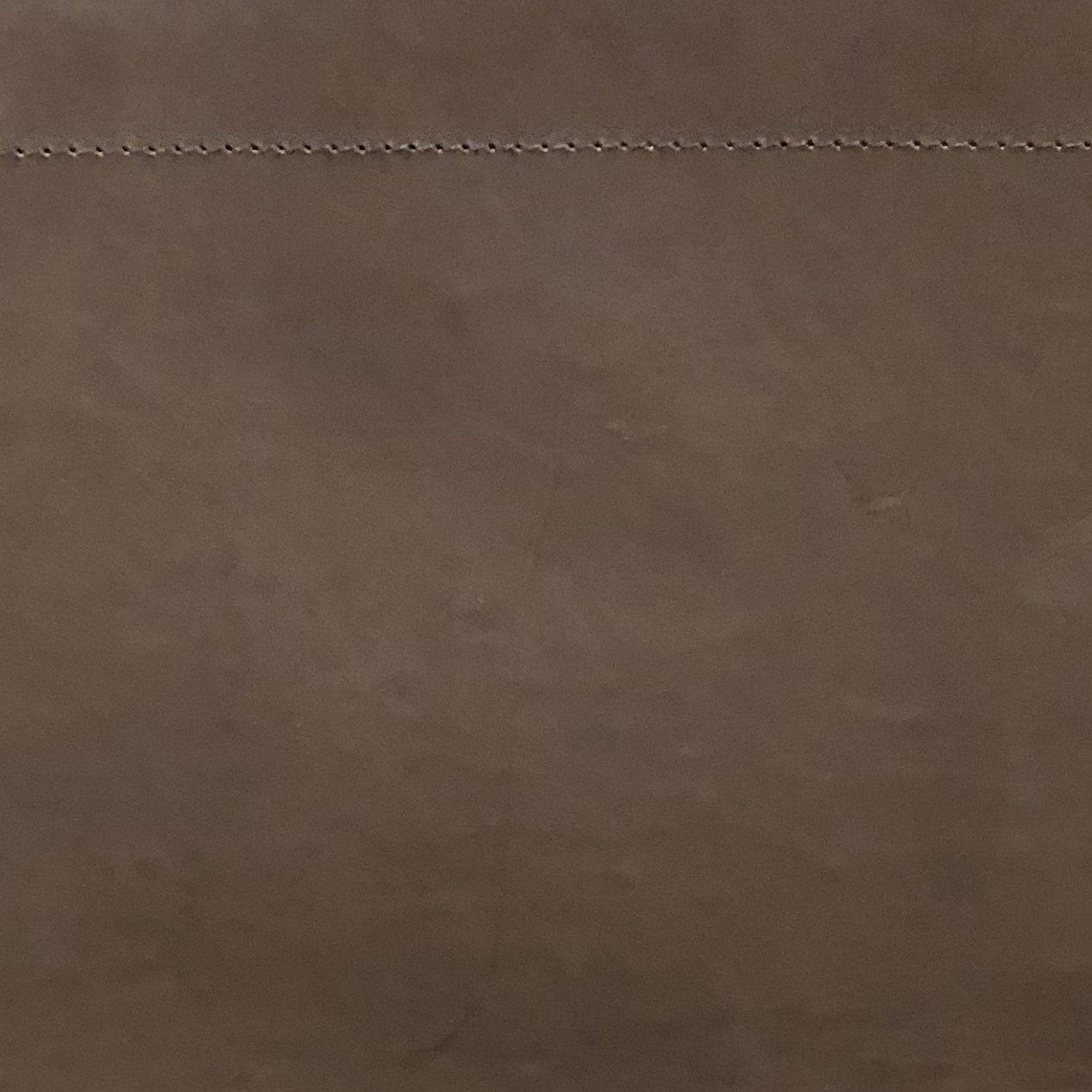 Mørkebrun læder (NDG)